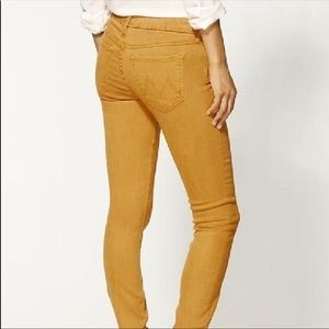 "Mother ""The Looker"" Jeans in Goldfish - 25"